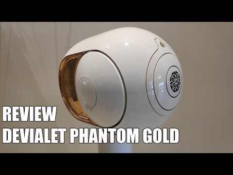 Review Devialet Phantom Gold 4500w El Altavoz Mas Potente Del Mundo