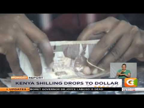 Kenya Shilling Drops To Dollar