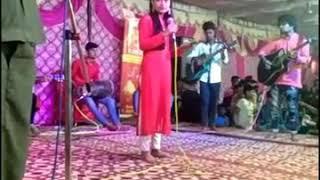 Aaj mon chey chhe (bengali song live performance)