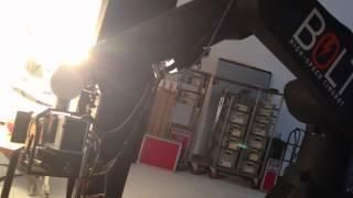 Phantom Flex4K Shooting 1000fps 4K Motion Control on Cinebot Robot Arm