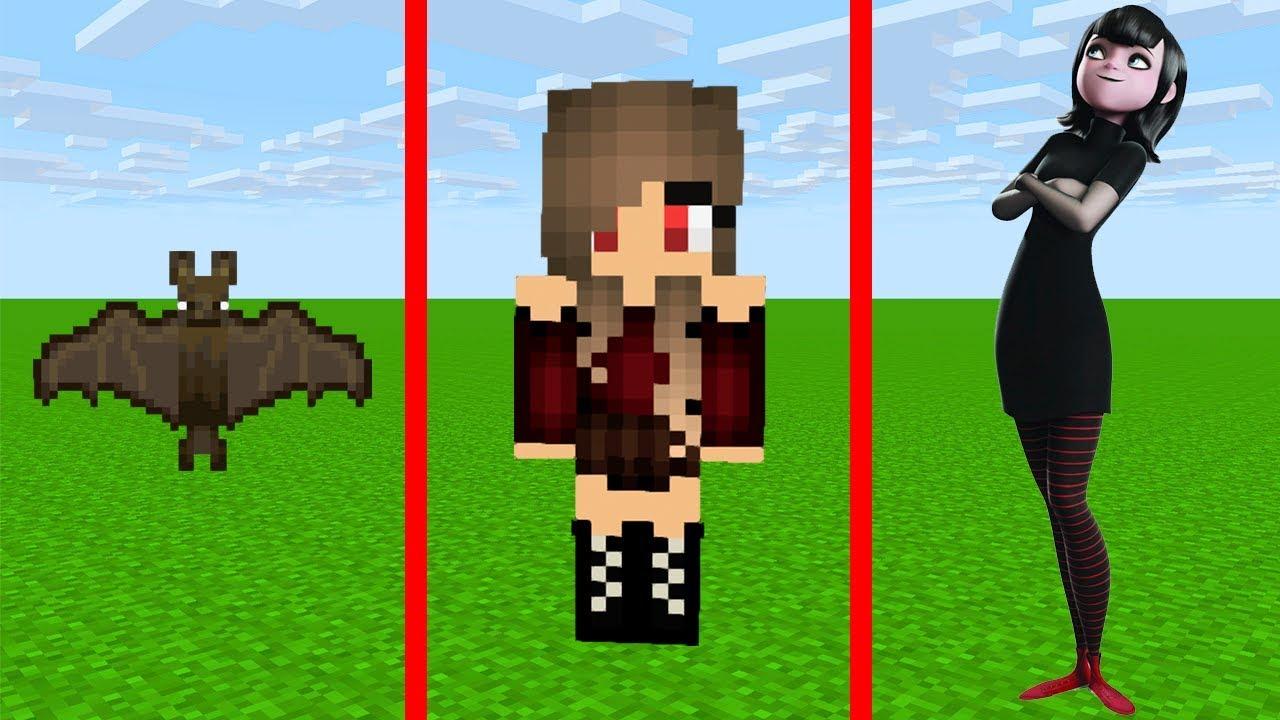 скрины в майнкрафт для девочек вампирша #7