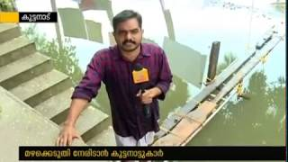 People from Kuttanad builts houses on pillars forseeing flood in season