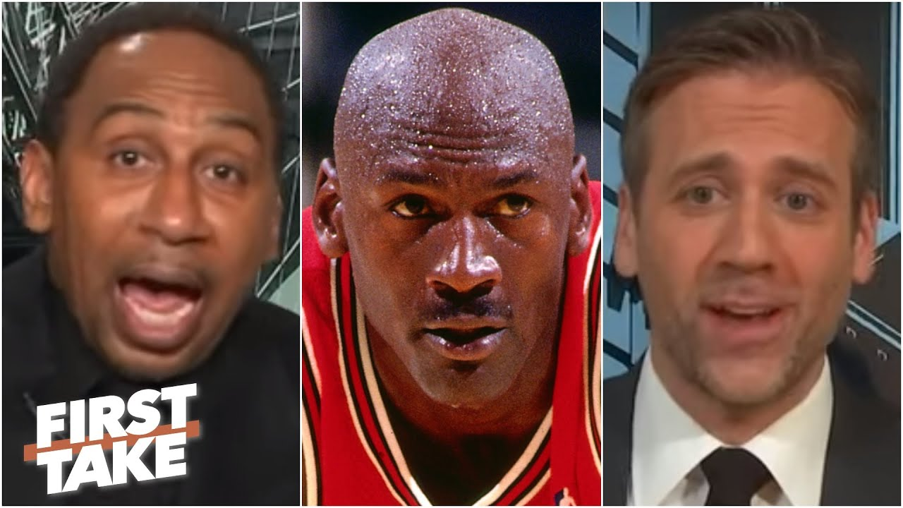 Stephen A. and Max debate MJ's greatest rival | First Take