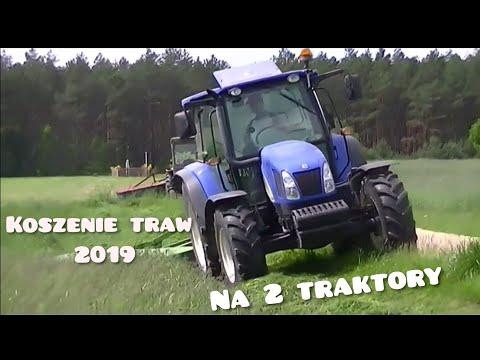 Koszenie trawy 2019/I pokos.