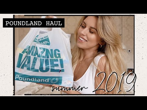 MY BIGGEST EVER POUNDLAND HAUL £££ JULY 2019
