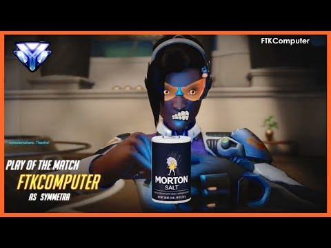Salty Symmetra Match to Start Your Day!- Numbani (Ranked)