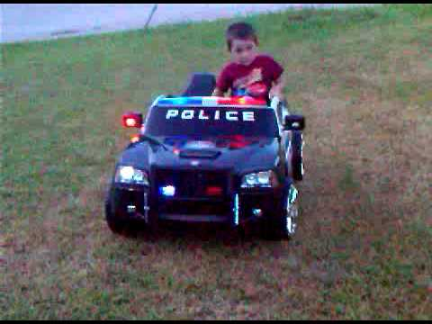 modified power wheels dodge charger police car youtube. Black Bedroom Furniture Sets. Home Design Ideas