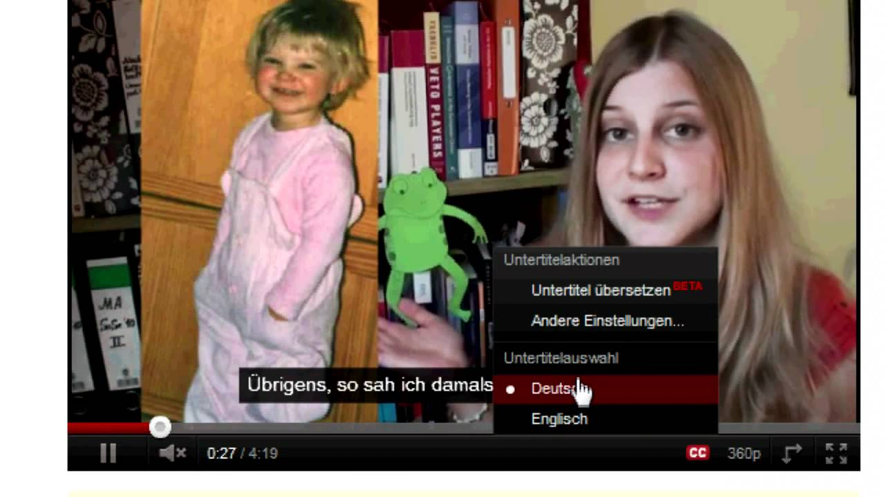 youtube untertitel handy