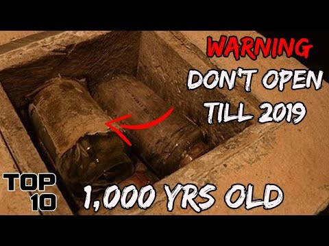 Top 10 Time Capsules That Must NOT Be Opened