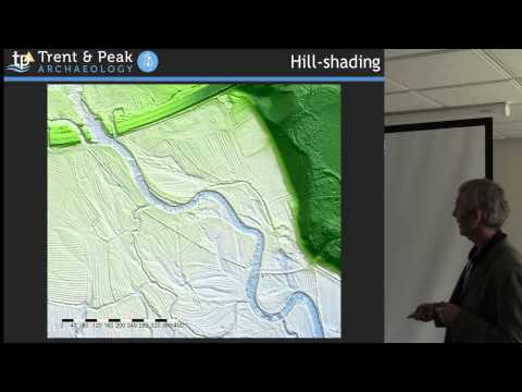 Interactive approaches to landscape modelling using Lidar da