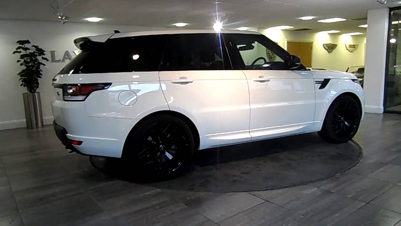 Range Rover Sport white & black - Lawton Brook - YouTube