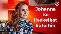 Johanna von Hertzen toi livekeikat suomalaisten olohuoneisiin⎪Tätä on Semilive⎪Duunitori