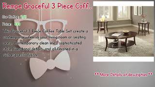 Coffee Table Sets With Console Reviews