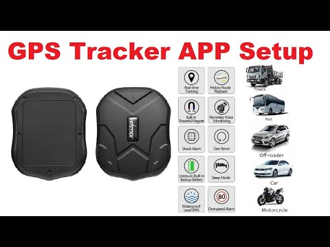 GPS Tracker Setup by Android App in Hindi(TKSTAR GPS )