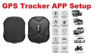 GPS Tracker Setup by Android App in Hindi(TKSTAR GPS )