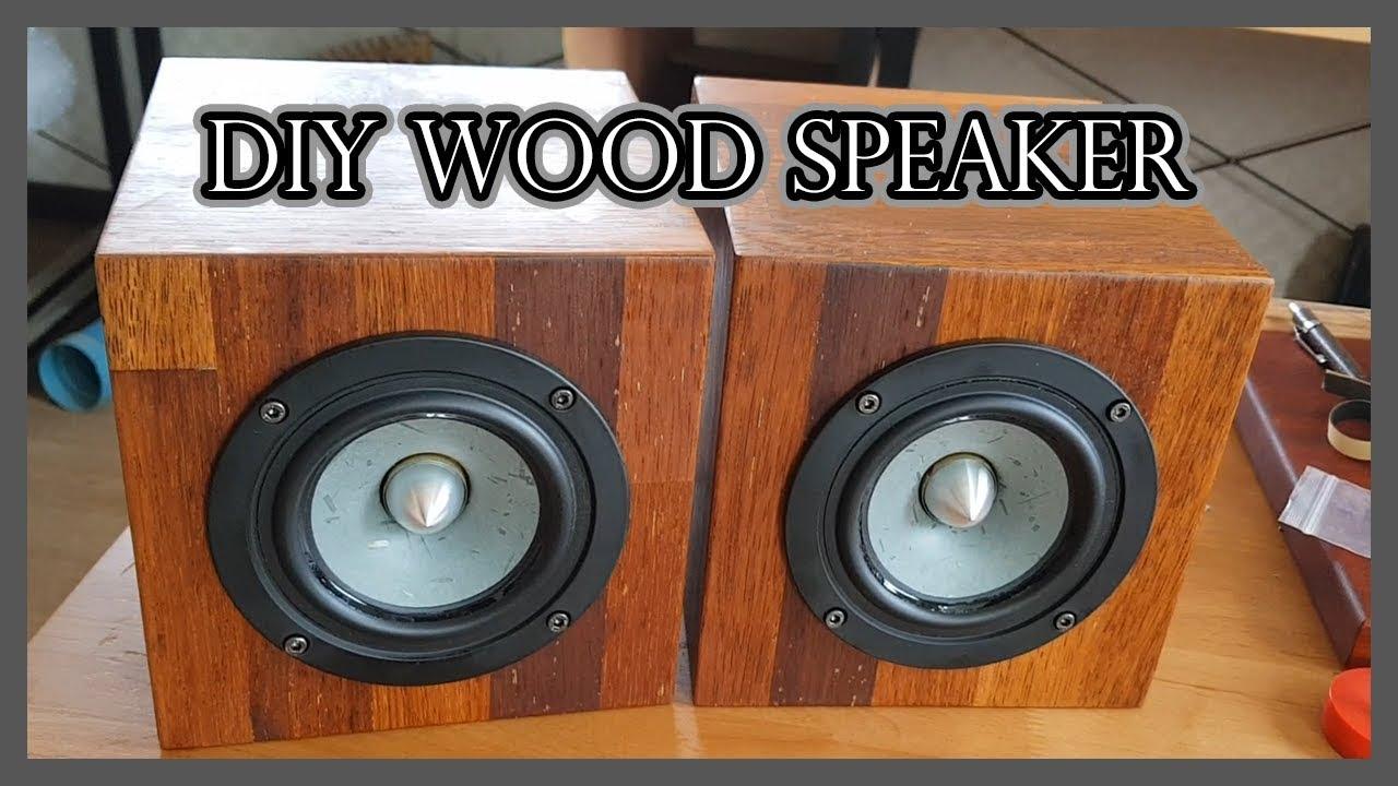 Diy Wooden Cube Home Speaker 홈 블루투스 스피커 만들기