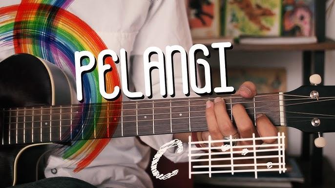 Mari Belajar Gitar Lagu Pelangi Youtube