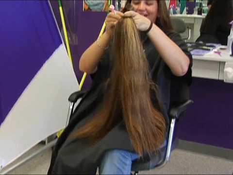 Kc Gets A Haircut For A Kindle 2 Youtube