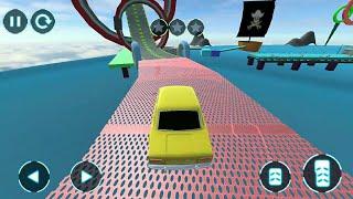 Ramp Car Stunt : Classic Car Driving Free Game, Gameplay