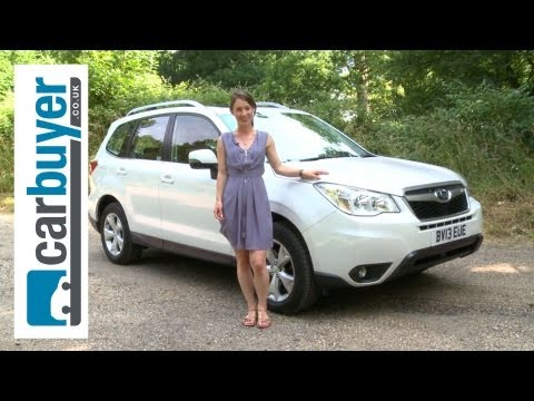 Subaru Forester SUV 2013 review CarBuyer