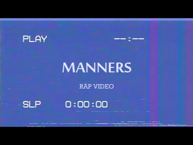 A Bad Rap Video About Manners