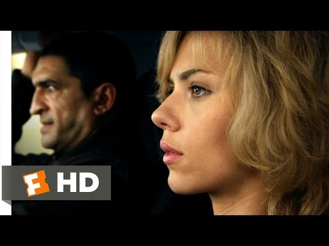 Lucy (6/10) Movie CLIP - I've Never Driven Before (2014) HD streaming vf