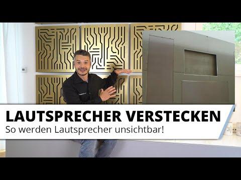 Tipps und Tricks rund ums Lautsprecher verstecken bis hin zu komplett unsichtbaren Lautsprechern