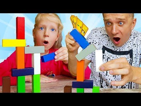 Самый СЛОЖНЫЙ ЧЕЛЛЕНДЖ на ВРЕМЯ! Милана  против МАМЫ и ПАПЫ! Веселые игры от Family Box для детей
