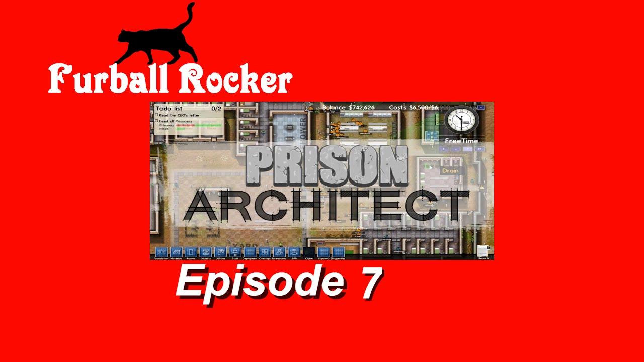 Prison Architect - Ep.7 Cute puppies will chew your leg off!