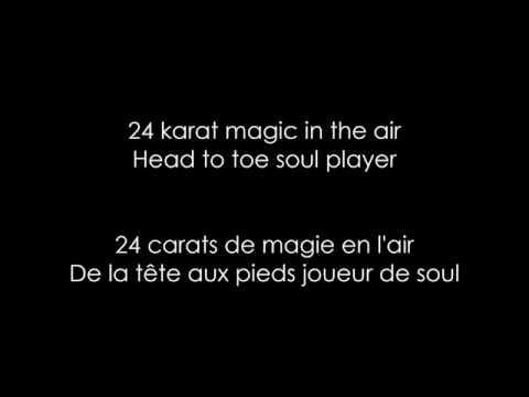BRUNO MARS // 24K MAGIC (LYRICS +...