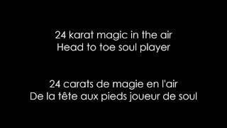 bruno mars 24k magic lyrics traduction fr