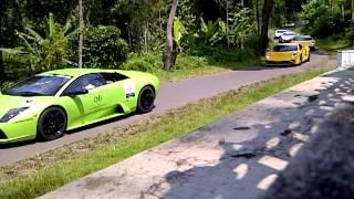 Tour Lamborghini Jakarta di Borobudur