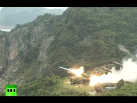 Chinese fleets conduct real combat drill on East China Sea