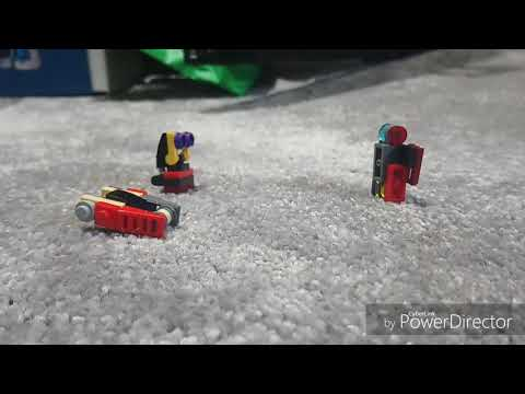 Lego transformers review : glow bug, cybertronian car and bee!