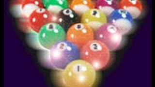 Amazing Pool Trick Shots (with Disco Pool Balls)
