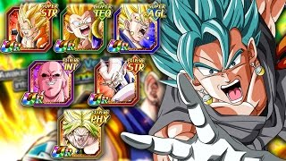 RNGESUS HIMSELF! [4K] MONO GOD CARD TEAM! The Dokkan Gods Descend! Dragon Ball Z Dokkan Battle!