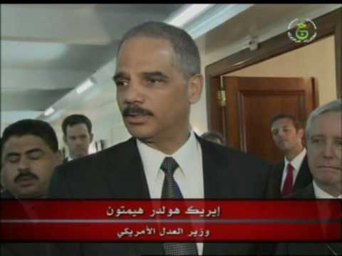 Attorney General Eric Holder Signs Mutual Legal Assistance Treaty with Algeria