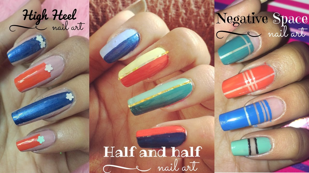 Nail Art Trends 2017 I High Heel Nails Negative E Half N
