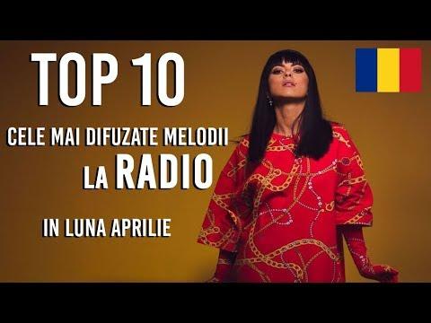 Top 10 Cele Mai Difuzate Melodii Pe Radio 2018 | Luna Aprilie