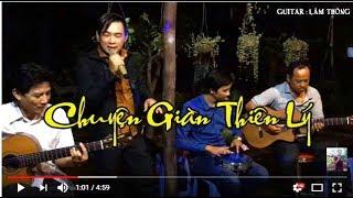 BOLERO Chuyện Giàn Thiên Lý / guitar Bolero Lâm Thông / nhạc lính nổi tiếng /ca lẻ Trương Ngọc Thái