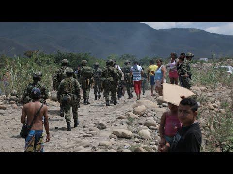 Hombres del Ejército se 'plantaron' frente a tropas de Venezuela