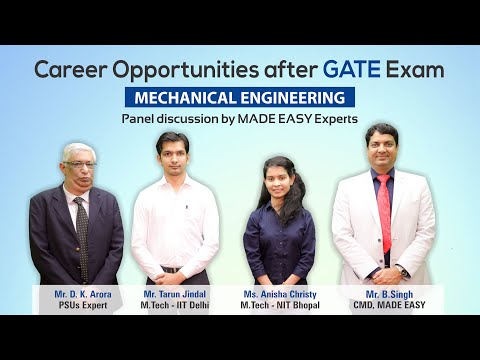 Career Opportunities after GATE | Mechanical Engineering | MADE EASY Mp3