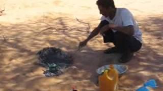 2009 Mauritanie Terjit, Cérémonie Du Pain Dans Le Désert