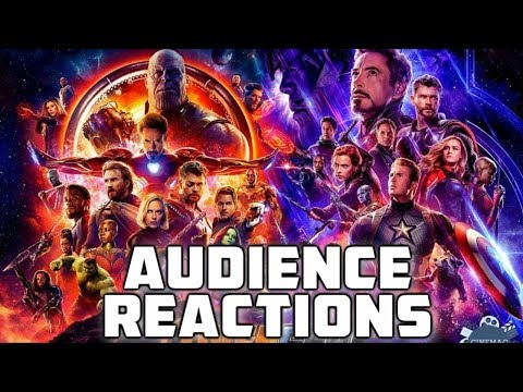 Avengers Infinity War & Endgame {spoilers} California: Audience Reactions  April 25, 2019