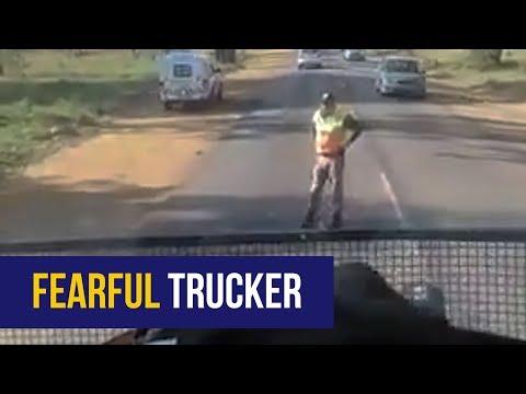 WATCH: Cop loses