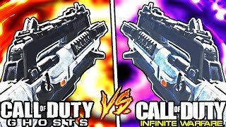 "The Evolution of The ""RIPPER"" in CALL OF DUTY! - CoD Ghost vs CoD Infinite Warfare"