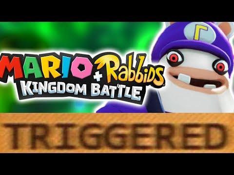 How Mario + Rabbids Kingdom Battle TRIGGERS You! (Ft. rabbidluigi)