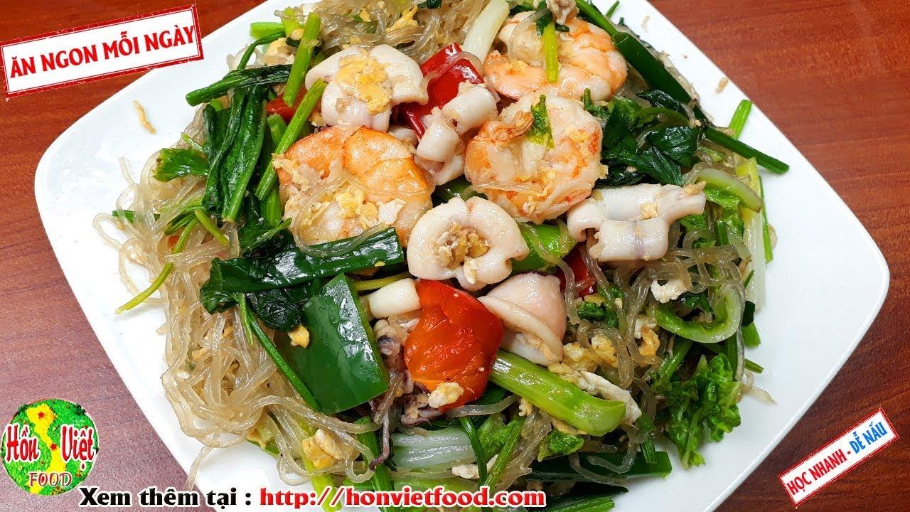 Miến Xào Hải Sản Đúng Cách Mới Ngon | Hồn Việt Food