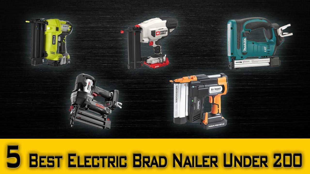 Pics photos dewalt cordless brad nailer nail gun - 5 Best Electric Nail Gun Review Best Electric Brad Nailer Under 200 Best Cordless Nailer