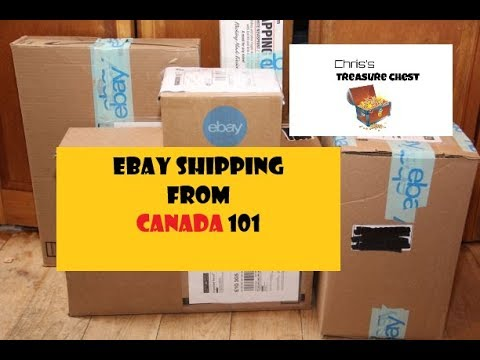 eBay Shipping From Canada 101